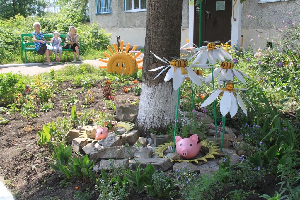 Декоративные поделки своими руками для сада фото 457